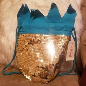 Sparkly Pinneapple Backpack